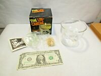 vintage The Un-Candle Item No. 138 Floating Candle Set by Corning Pyrex NIB NOS