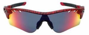Oakley Sunglasses Radarlock OO9206-35 138m Urban Jungle Tiger Stripe Red Iridium