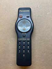 Genuine Panasonic (EUR501050) Black TV Remote Control w/ Battery Cover