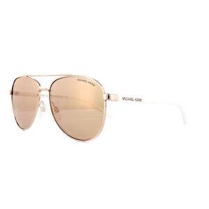 Michael Kors Sunglasses Hvar 5007 1080/R1 Rose Gold Rose Gold Mirror