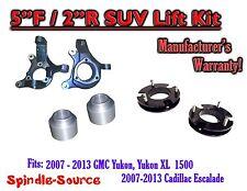 "07 - 13 GMC Yukon / XL 1500 Cadillac Escalade 5"" / 2"" Lift Kit Spindle + Spacer"