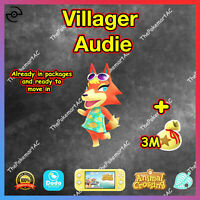 Animal Crossing New Horizons | Villager Audie | Bewohner Katharina