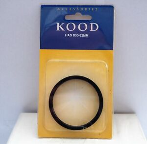 New unused Kood good quality Hasselblad B50 to 52mm filter adapter ring.