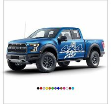 4X4 OFFROAD Mud Tire Decal Sticker Vinyl Wrap for SUV Truck Pickup JEEP F150 RAM