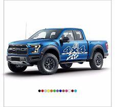 4X4 OFFROAD Mud Tire Decal Sticker Vinyl Wrap for SUV Truck Pickup JEEP F150 RAM