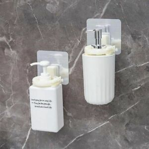 Bathroom Organizer Wall Mounted Shampoo Bottle Shelf Self Adhesive Shelves
