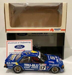 Dick Johnson 1981 Bathurst winner Ford XD Falcon 1/18 model | DJR Tru Blu French
