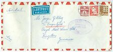 DENMARK: Airmail cover to Jamaica 1963.