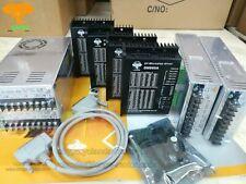 US SHIP 4axis Stepper motor driver DM860A,7.8A, 24-80VDC+Power Supply 350W-60V