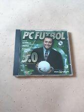 PC Fútbol 5.0, Juego PC, Como Nuevo, Gestión deportiva, Español.