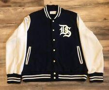 Ralph Lauren Denim Supply Thick Cotton Varsity Snap Button Sweater Jacket XXL 2X