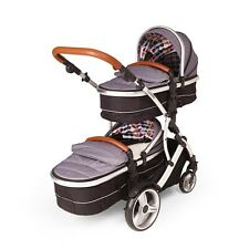 Double twin Pushchair Duellette 21 CB buggy pram travel system Tandem