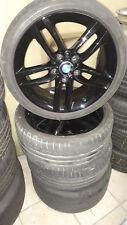 18 Zoll BMW Alukompletträder Doppelspeiche 461 für 1er F20 schwarz