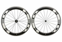 HED Jet Six Road Bike Wheel Set 650c Carbon Clincher Shimano 11 Speed