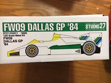 Studio 27 1/20 Williams FW09 Dallas '84  (DX2011)  Rosberg / Laffite