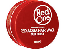 RedONE Red Aqua Hair Wax Maximum Control FULL FORCE Long Lasting Hair Styles