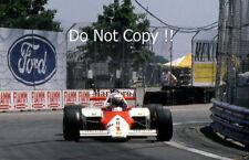 Alain Prost McLaren MP4/3 Detroit Grand Prix 1987 fotografía 2