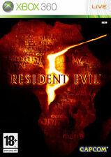 Resident Evil 5 XBOX 360 jeux jeu action games game spellen spelletjes 1397