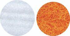 Filterwatte je 1 kg weiß fein, orange extra grob für Süß u Seewasser Gartenteich
