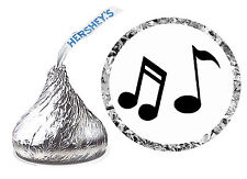 216 MUSIC NOTES MUSICIAN BIRTHDAY PARTY FAVORS HERSHEY KISS LABELS