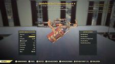 Fallout 76 Blutbefleckt Flammenwerfer Bloodied Flamer Explo B 25 15 PS4 RAR