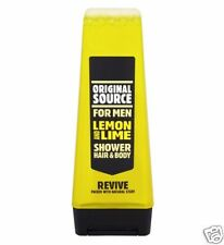 6 X 250ml Original Source Mens Shower GEL Lemon and Lime Revive