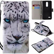 New Wallet Cartoon leather slots Flip stand cover case withTempered glass film 1