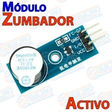 Modulo Zumbador Activo 2KHz 3,3v 5v DC 12mm Buzzer - Arduino Electronica DIY