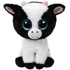 "Ty Beanie Boos 6"" Butter the Cow Plush"