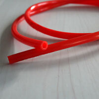 """Durable Motorcycle Fuel Line Red 7mm 30"""" Gas Hose Tube For  XR50 CRF50 VU"""