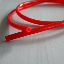 """Durable Motorcycle Fuel Line Red 7mm 30"""" Gas Hose Tube For Honda XR50 CRF50 TBMO"""