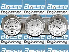 62 63 Ford Fairlane Billet Aluminum Gauge Panel Dash Insert Instrument Cluster
