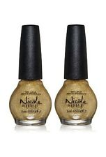 LOT OF 2 - Nicole By Opi Nail Lacquer Polish CARRIE'D AWAY