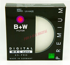 B+W 58mm XS-PRO XSP Digital Haze 010M MRC UV Nano Filter 1066120 Germany 58 mm