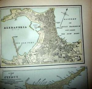 1892 Pacific Coast & World Atlas, California, San Francisco San Diego, Oregon &c