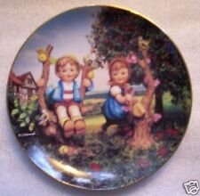 "Apple Tree Boy And Girl - Hummel Danbury Mint Plate 8"""