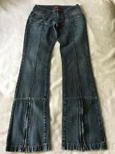 Miss Sixty Boot Cut Low Rise Sexy Booty Ladies Jeans Italy Made Size 25