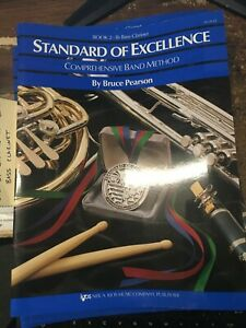 Standard of Excellence Comprehensive Band Method Book 2 for Bass Clarinet