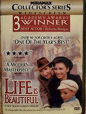 Life Is Beautiful (Dvd 1999 Collectors Edition) Widescreen Usa Region 1 Like New