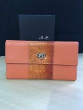 Leather Trifold Purses & Wallets for Women with Phone Holder