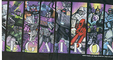 "BOTCON 02 ""Megatron Through the Years"" Vintage T-Shirt XL; 2002; Transformers"