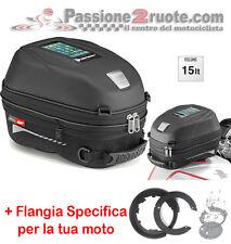 Borsa Serbatoio Givi ST603 Tanklock tank bag+Bf05 Yamaha Xt1200z Super Tenere