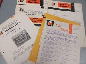 Nice Size Lot of Oliver Bulletins Sheets