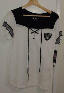 Oakland Las Vegas Raiders Baby Jersey Lace-Up Stripe New NFL Football Derek Carr