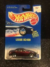 Hot Wheels~1996~Collectors No. 264~Lexus SC400~New Paint Style~Clean