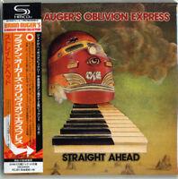BRIAN AUGER'S OBLIVION EXPRESS-STRAIGHT AHEAD-JAPAN MINI LP SHM-CD Ltd/Ed F25