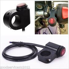 High Quality DC12V 16A Motorcycles LED Handlebar Headlight Spot Lamp Switch Kit