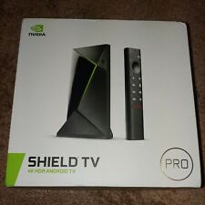 NVIDIA SHIELD Android TV Pro 16GB 4K HDR Streaming Media Player NEW