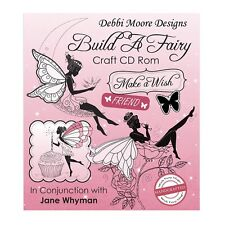 Debbi Moore Designs Build A Fairy Craft CD Rom (323302)