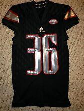 2015 Adidas Louisville Cardinals #36 Evan O'Hara Football Game Worn Jersey